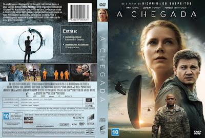 Filme A Chegada (Arrival) DVD Capa