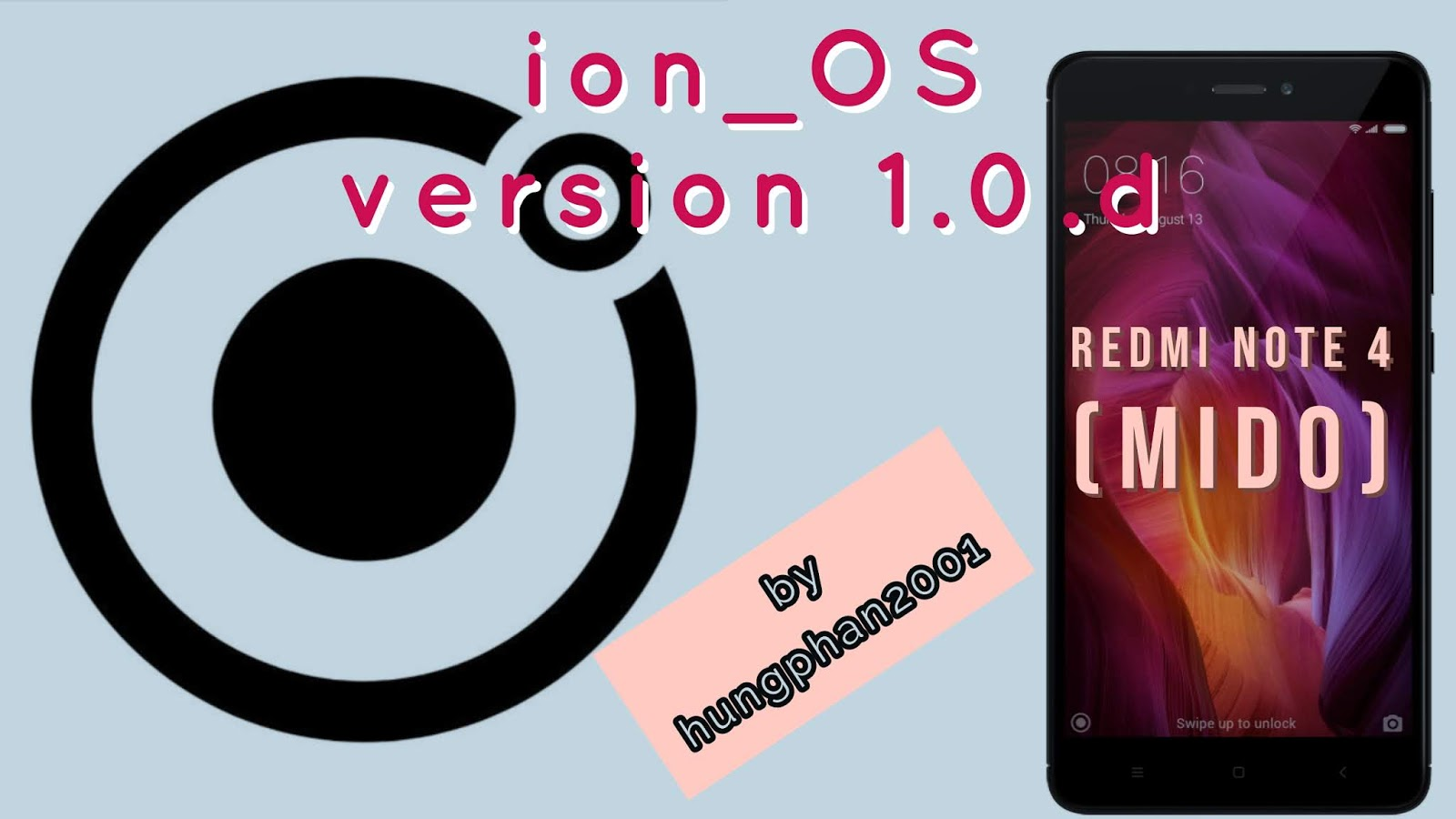ion_OS 1 0 d Official Pie build for Redmi Note 4 (Mido) by