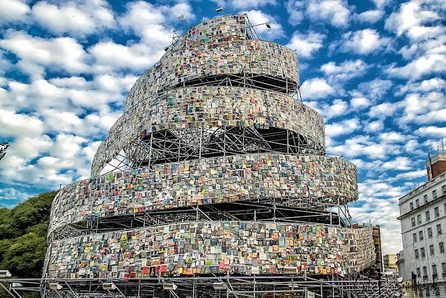 La Torre de Babel, Buenos Aires, Argentina.