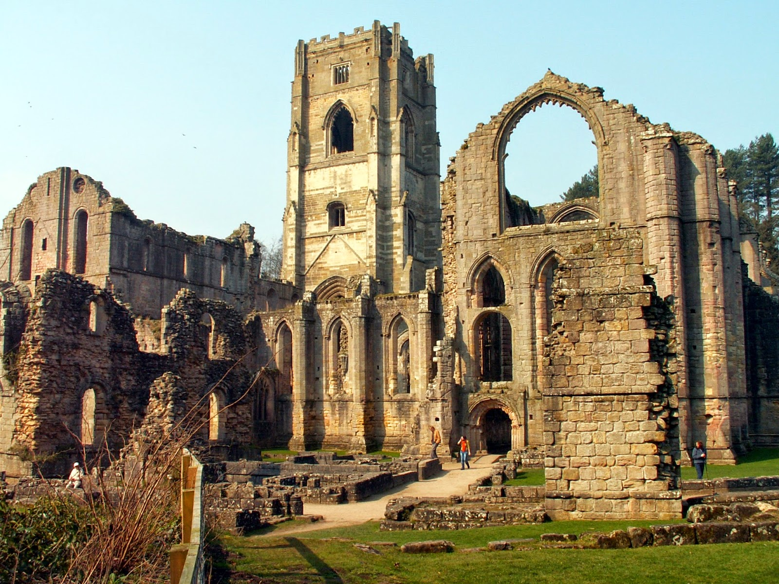 Fountains Abbey Explained
