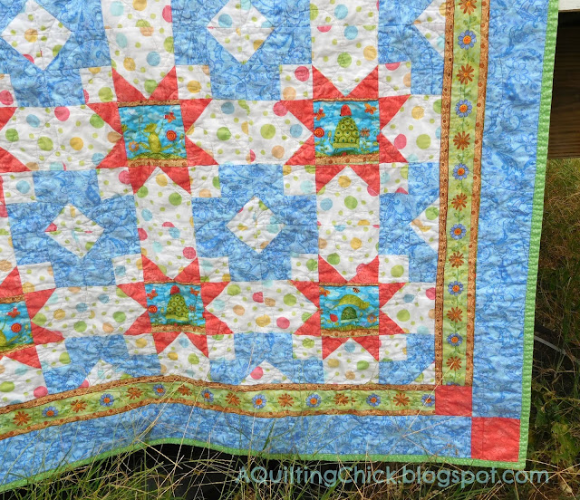 Frog Mystery Quilt - Right