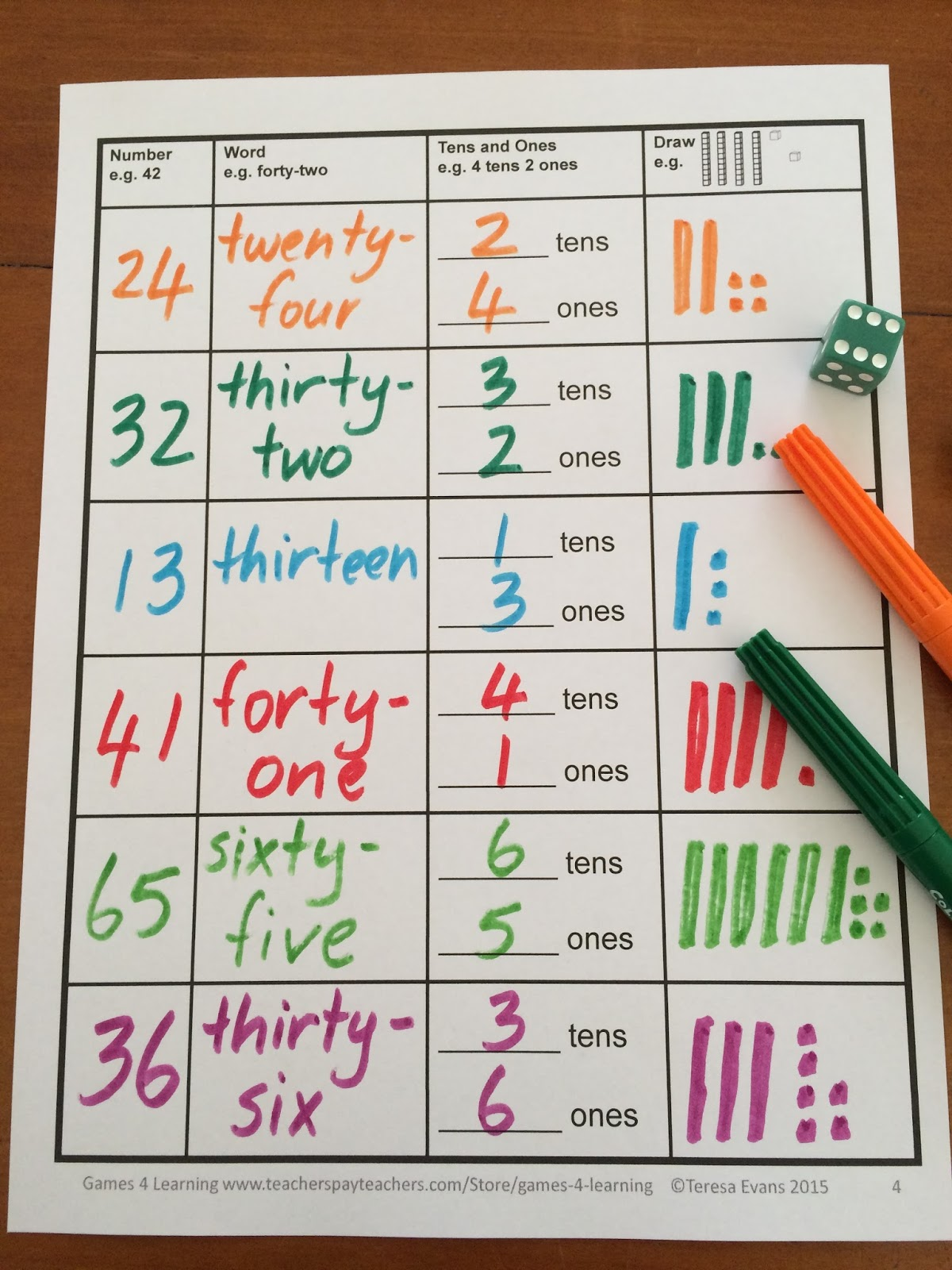 Fun Games 4 Learning Place Value Fun