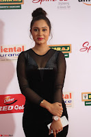 Vennela in Transparent Black Skin Tight Backless Stunning Dress at Mirchi Music Awards South 2017 ~  Exclusive Celebrities Galleries 024.JPG