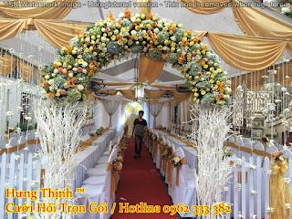 mẫu cổng hoa cưới đẹp nhất 10