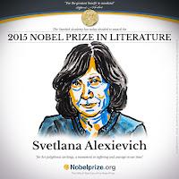 Svetlana Aleksievic vince il Nobel per la letteratura 2015