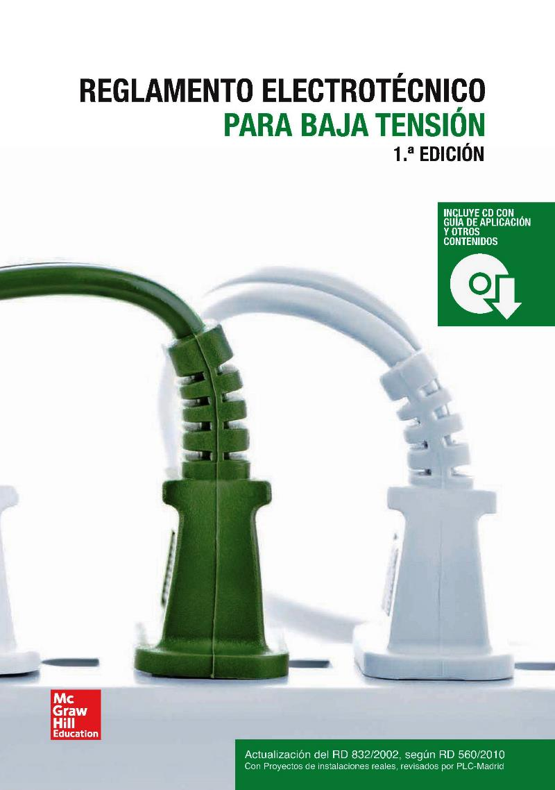 Reglamento electrotécnico para baja tensión – José M. Redondo