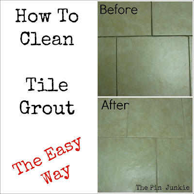 how to clean and reseal grout