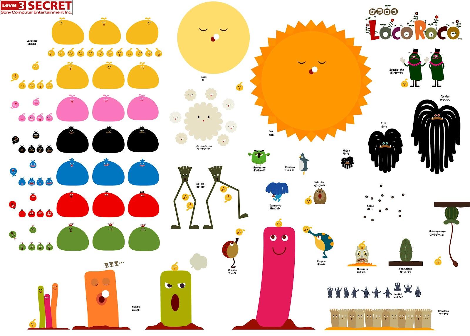 Lauren S Blog Locoroco Wallpaper