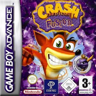 Rom de Crash Bandicoot Fusion - PT-BR - GBA - Download