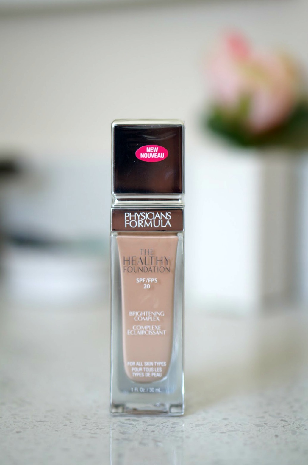 Popular North Carolina style blogger Rebecca Lately features Physicians Formula The Healthy Foundation as the latest Foundation Friday.