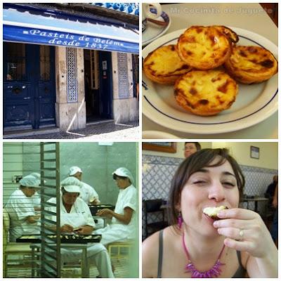 Pastéis de Belém (Pasteles de Nata Portugueses)