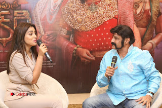 Shriya Saran Nandamuri Balakrishna at Gautamiputra Satakarni Team Press Meet Stills  0180.JPG