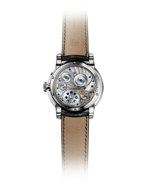 HM Perpetual Moon steel case - back view