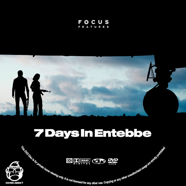 7 Days In Entebbe DVD Label