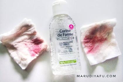 Bersihkan Wajah Menjadi Lebih Mudah dengan Corine de Farme