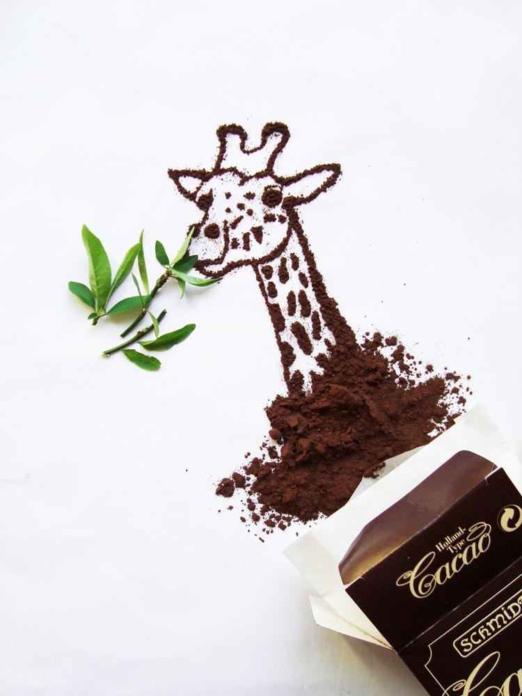 21-Giraffe-Ioana-Vanc-Food-Art-using-Chocolate-Vegetables-and-Fruit-www-designstack-co