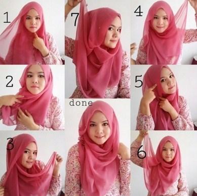 Tampil Stylish Dan Fashionable Dengan Tips Hijab Remaja Ini