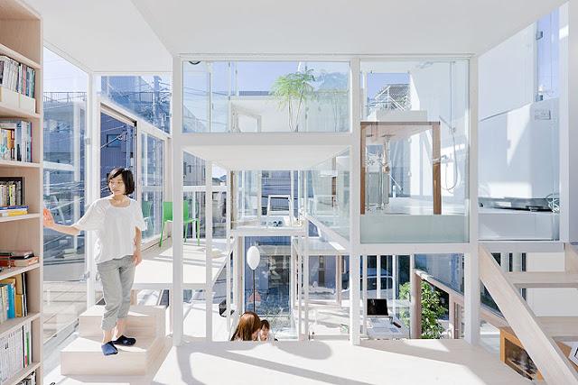Berani Tinggal Di Rumah Transparan Seperti Ini?
