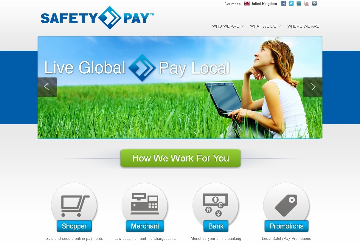 SafetyPay Screen