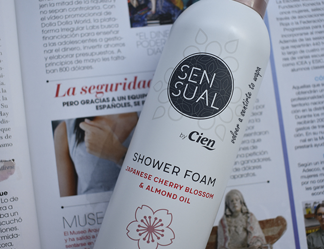 Gama Asian Spirit de los productos SENSUAL de Lidl - Shower Foam o Espuma de Ducha
