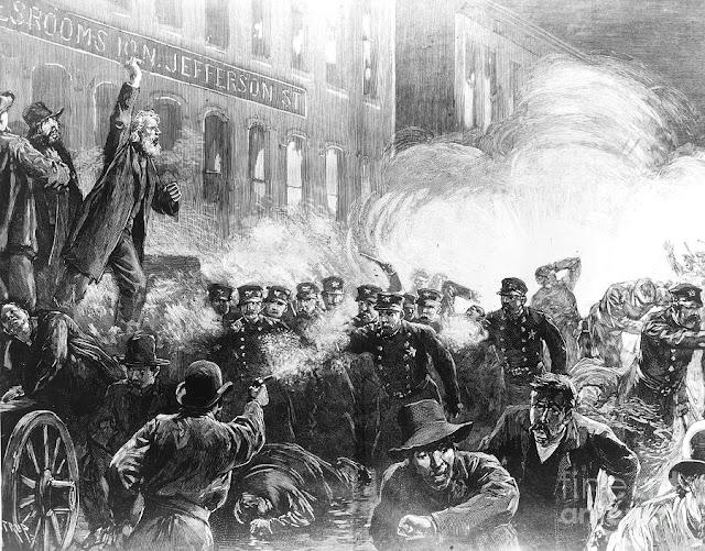 Haymarket affair or Haymarket riot