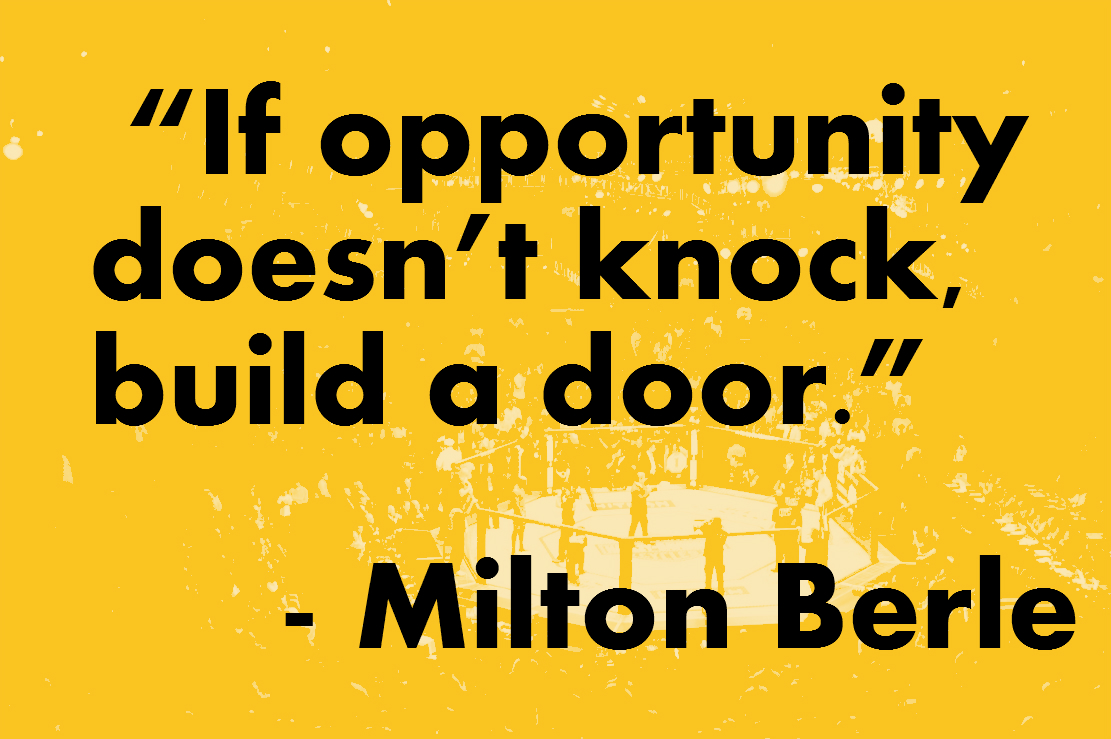 Motivational Quotes For Athletes If Opportunity Doesnt Knock