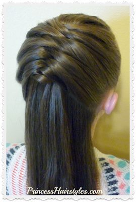 Snap braid video tutorial. French fishtail braid hack!
