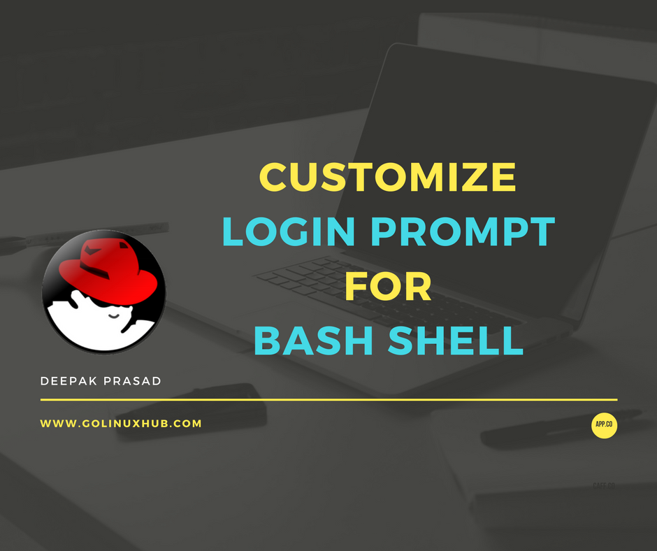 10 examples to customize or change the login prompt using PS1