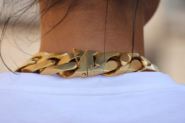 MAJOR CHAIN NECKLACE