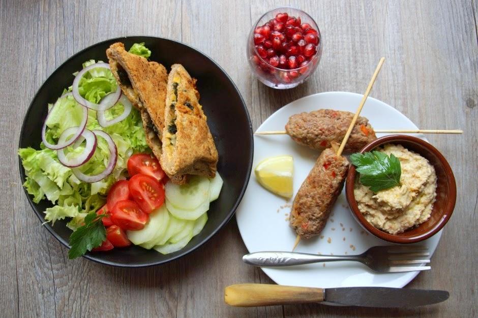 Bien-aimé Bienvenue chez Spicy: Repas minceur - assiette orientale, gözlemes  QO79