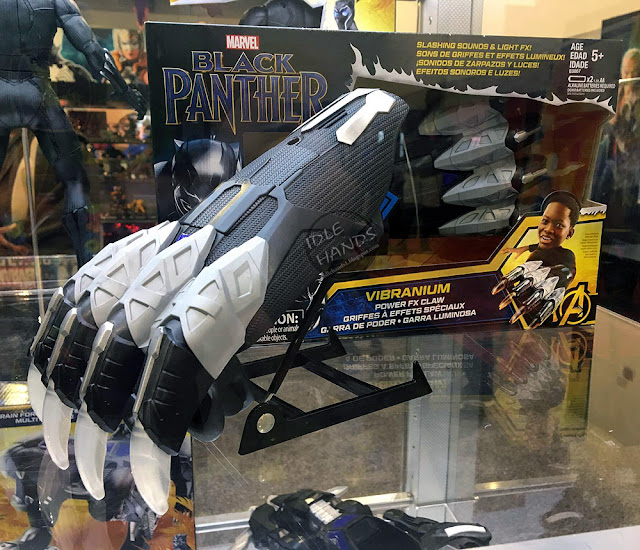 Hascon 2017 Hasbro Marvel Comics Black Panther movie toy line