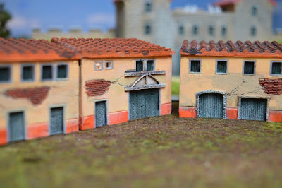 Set of 4 Roman Houses 1:144 (10-12mm) (Code: nj-144_rom2) 8