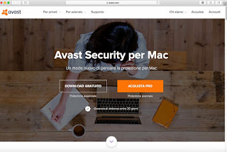Programma Avast Security per Mac