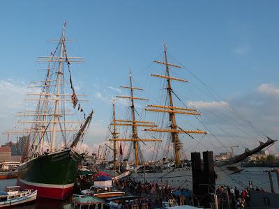 Hafengeburtstag, Hamburg, Hafen, Gorch Fock, Rickmer Rickmers