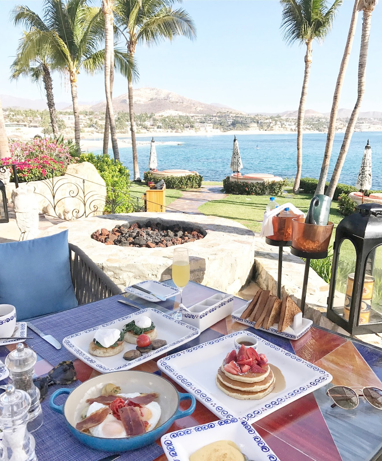 one & only palmilla breeze restaurant breakfast