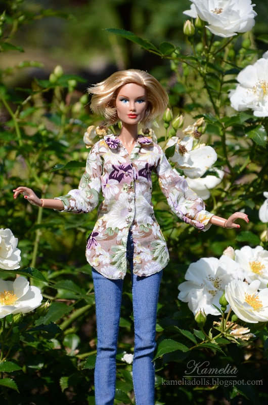 Color Infusion Darby Kenner doll