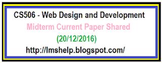 CS506 Midterm Current Paper
