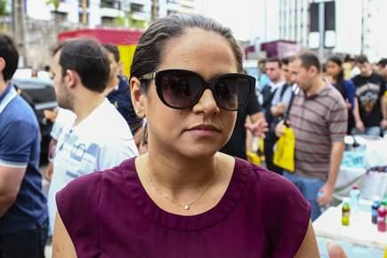 Jade Oliveira veio de Recife para participar das provas para procurador do Estado. Foto: Gilson Teixeira