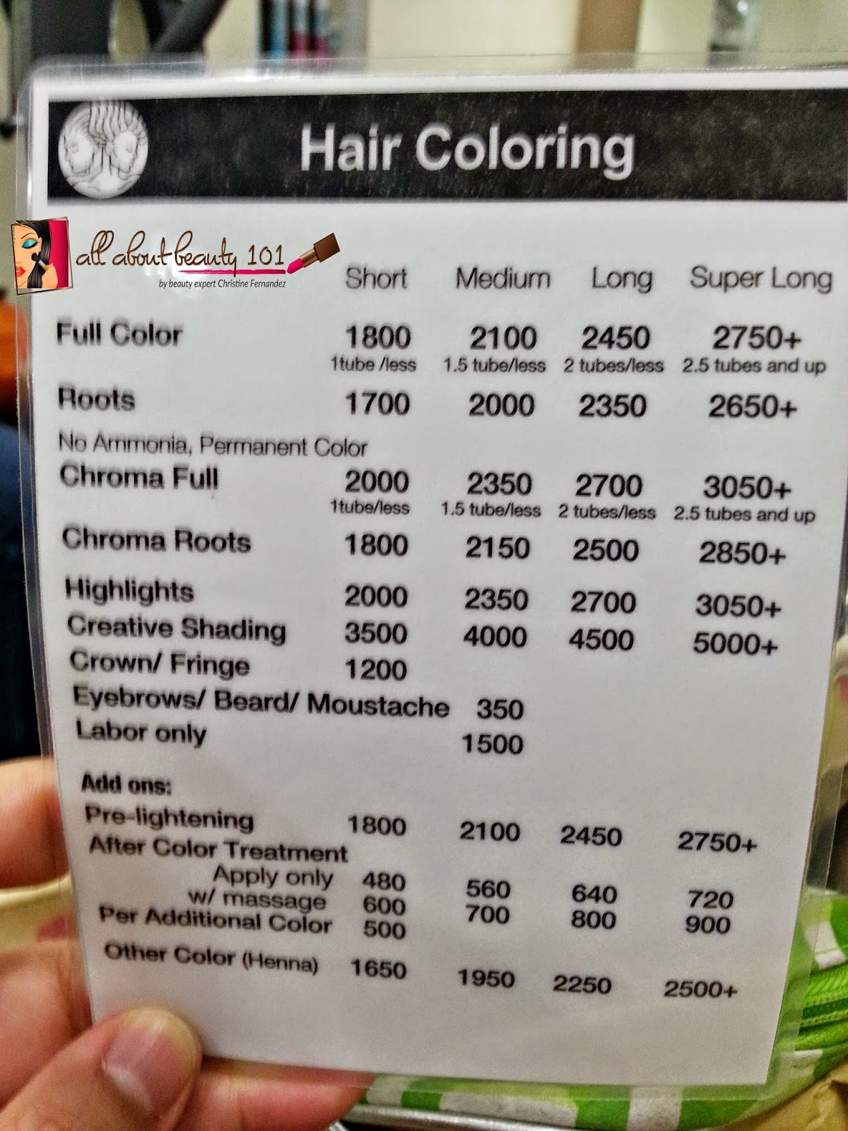 Piandre Salon My Latest Experience Rates And Services