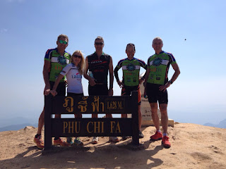 Cycling in Thailand with Montefusco Cycling