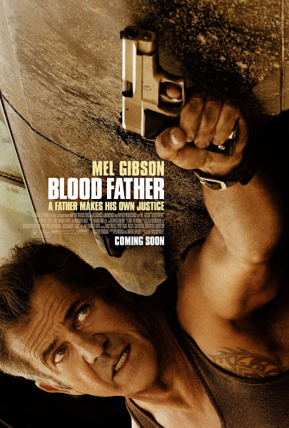 Poster of Blood Father 2016 720p English BRRip Full Movie Download