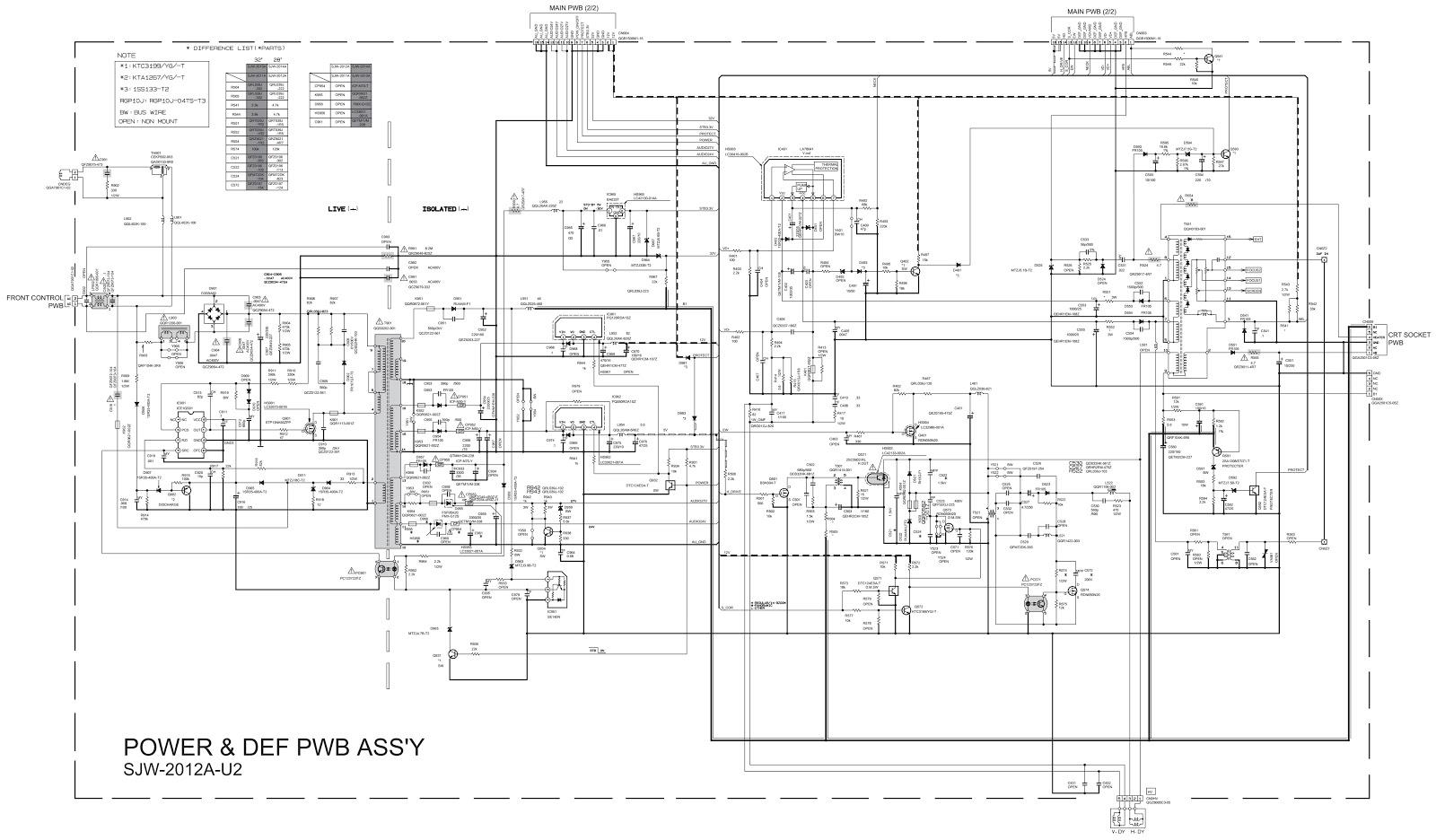circuit diagram jvc tv wiring diagram [ 1600 x 936 Pixel ]