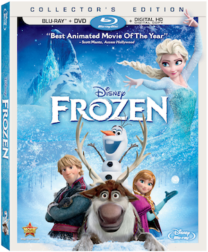 Blu-ray Review - Disney's Frozen: Collector's Edition