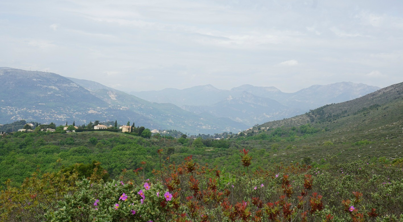 View towards northwest from Crete de Graus