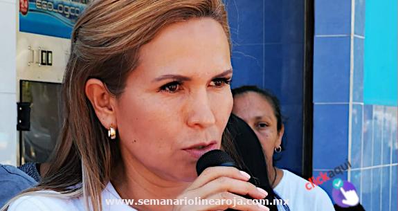 Laura Beristain continúa demostrando su falta de capacidad, contradicciones y carencia de soluciones para la población