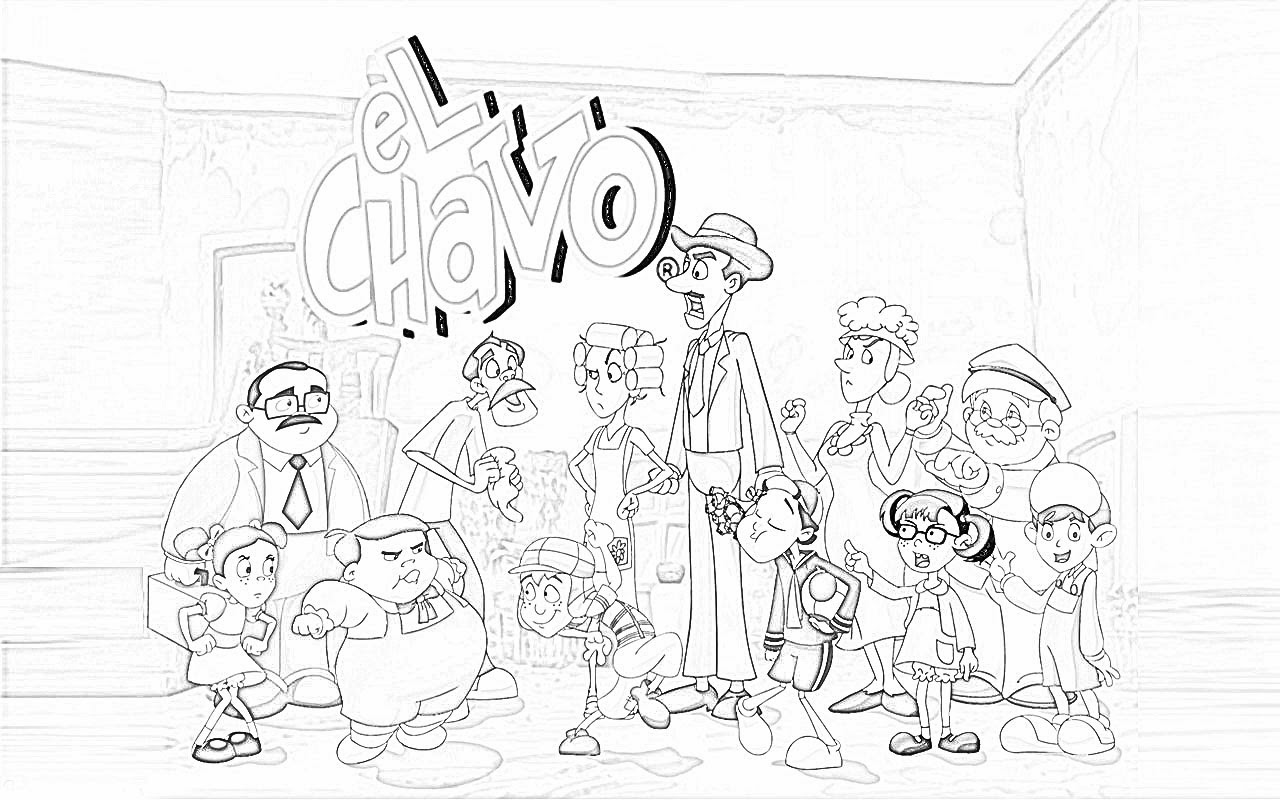 Dibujos Del Chavo Related Keywords Suggestions Dibujos