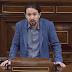 """Pablo Iglesias: """"El patriotismo no va de banderas, va de defender a la gente""""."""