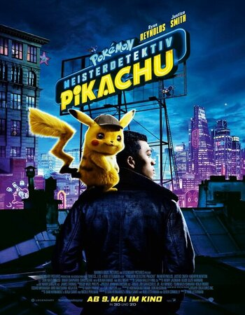 Pokémon Detective Pikachu (2019) Dual Audio Hindi 480p HDRip ESubs 300MB Movie Download