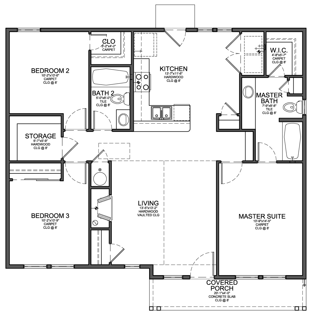 Functional and Aesthetic House Plan Design picture