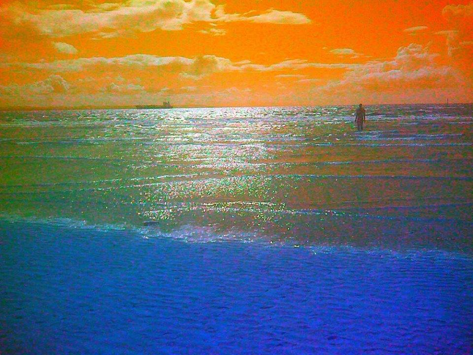 I Used Orange Complementary And Blue Primary Accentuate Each Other In My Digital Art Waiting For Nothing This Example Have A Very Bold Use